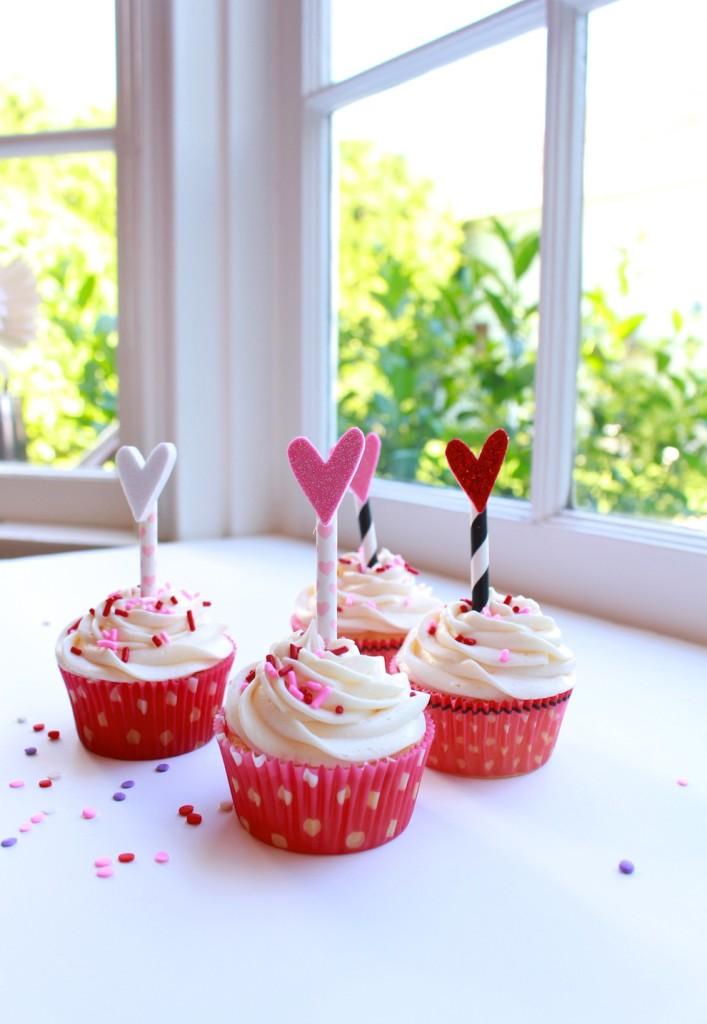 Be My Valentine Cupcake Recipe   WWW.ROCKWELL-BLOG.COM