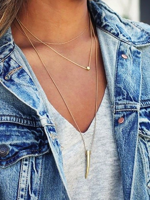 10 Layering Necklaces Under $100 | Rockwell