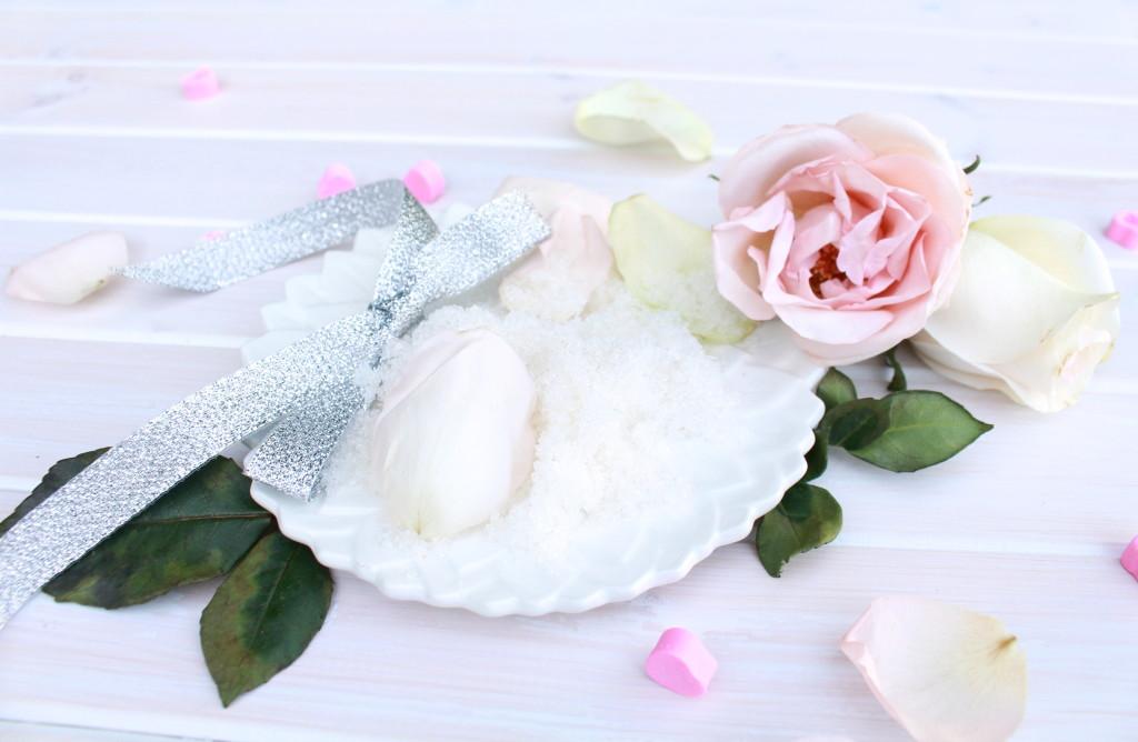 DIY Rose Infused Bath Salt | Rockwell