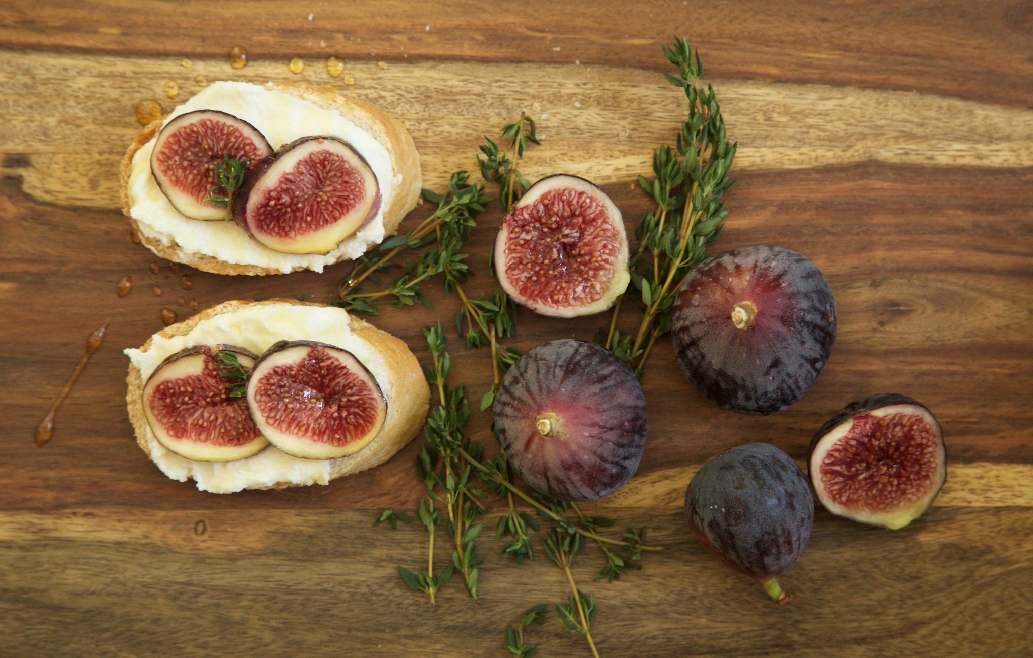 Apéritif: Fig, Ricotta, Thyme, and Honey - Rockwell