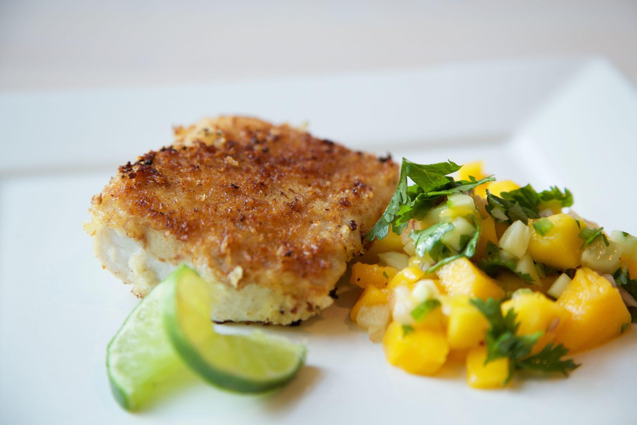 Mahi Mahi + Mango Salsa Recipe   Rockwell