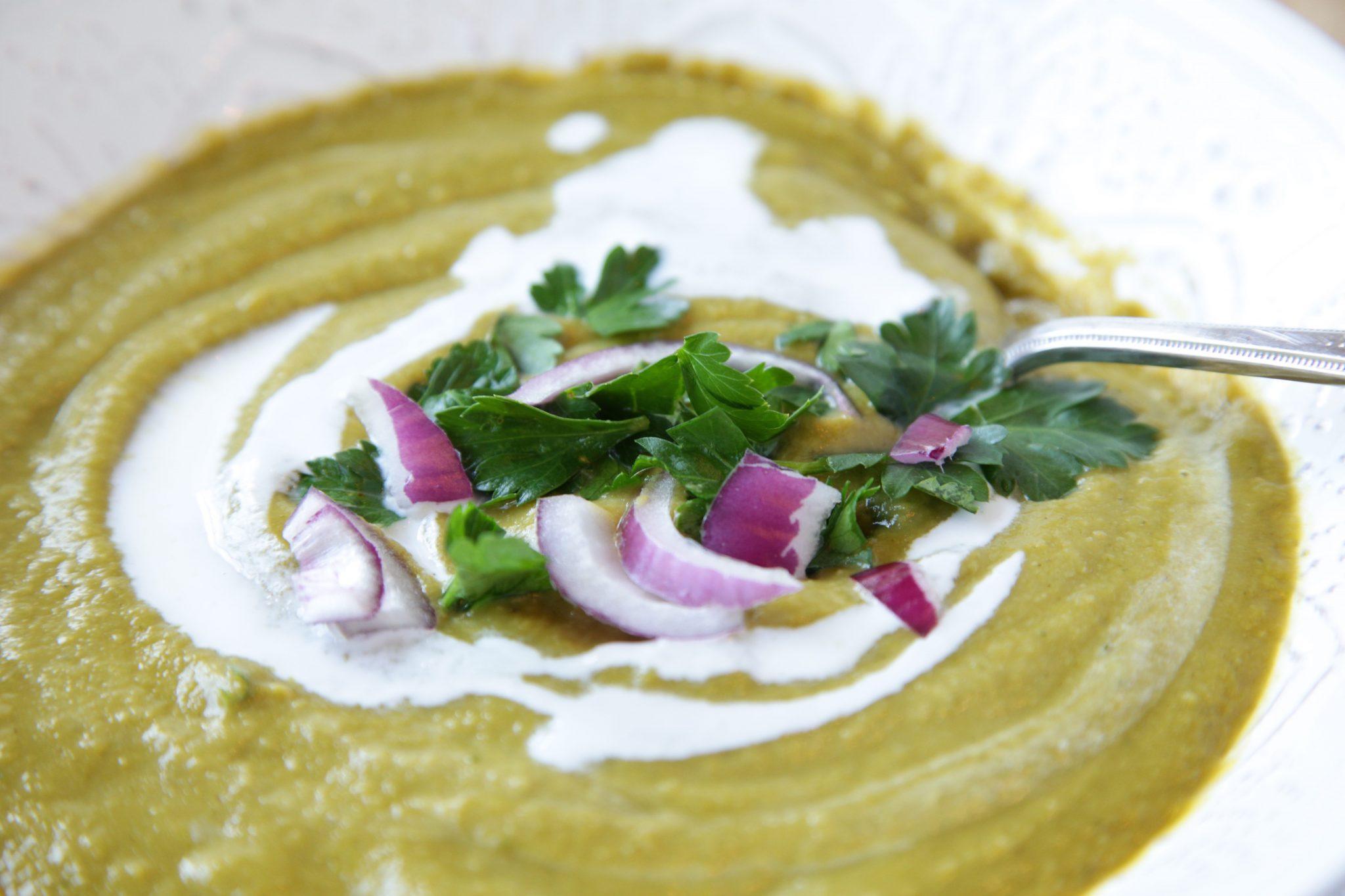 Vegan White Bean Vegetable Soup   Rockwell
