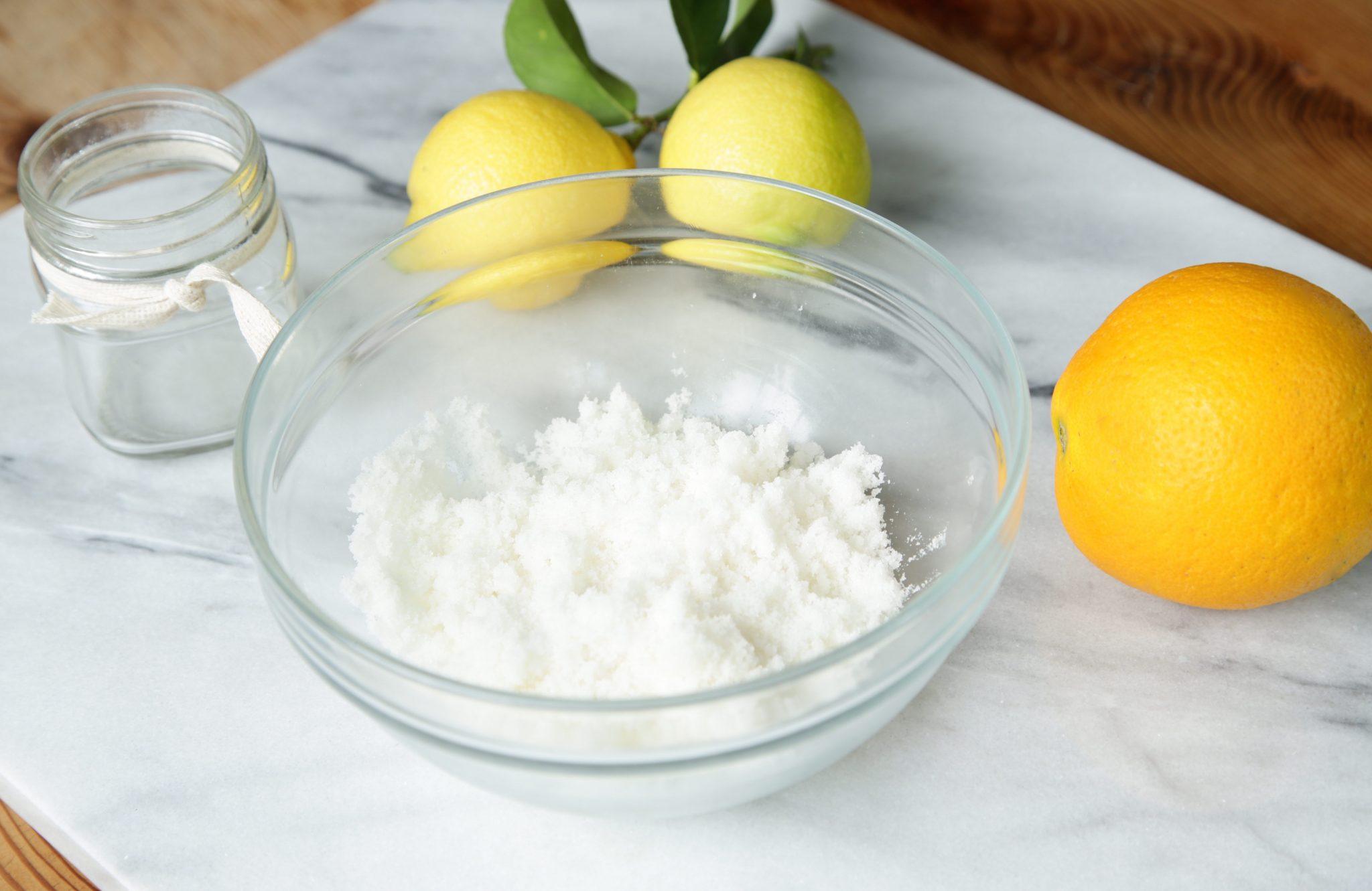 DIY Lemon Sugar Scrub | Rockwell